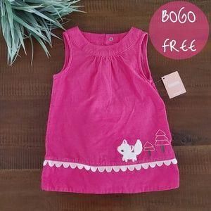 NWT gymboree pink kitty dress size 12 months